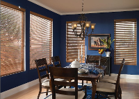 Blinds in Dining Room, Window Treatments, New York, NY