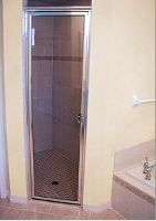 Glass Shower Door, Custom Glass & Mirrors, New York, NY